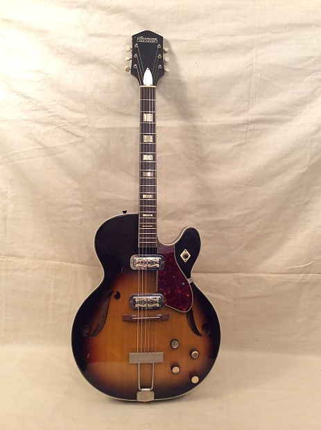 vintage 1960 39 s harmony h 70 meteor guitar project for parts reverb. Black Bedroom Furniture Sets. Home Design Ideas