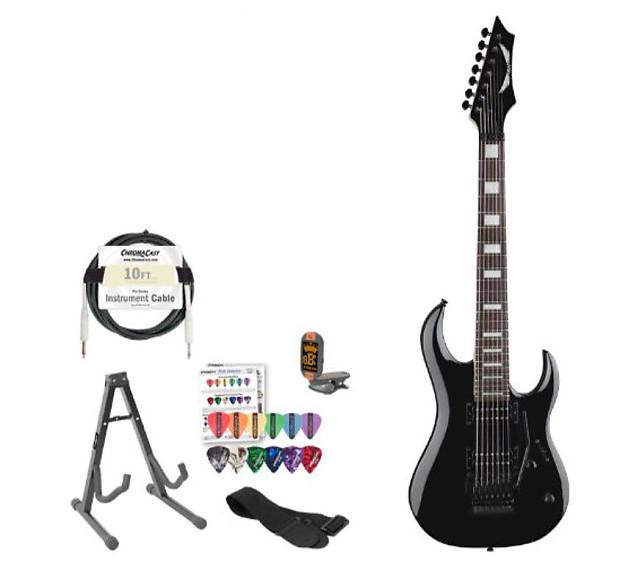 dean guitars michael angelo batio signature 7 string black reverb. Black Bedroom Furniture Sets. Home Design Ideas