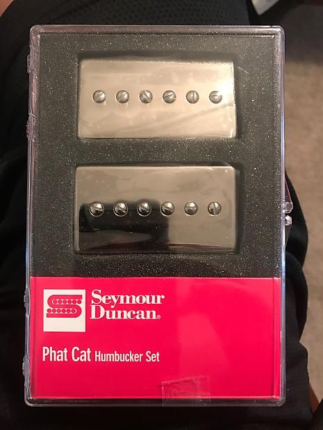 seymour duncan phat cat p90 humbucker set chrome reverb. Black Bedroom Furniture Sets. Home Design Ideas