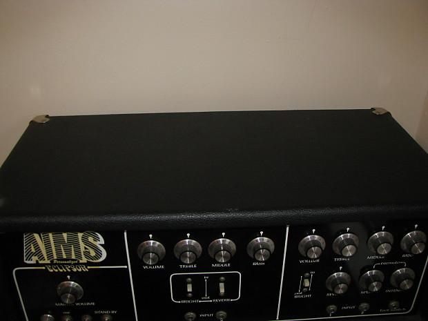 Aims Eclipsor 70 S Black 120 Watt Tube Amp Reverb