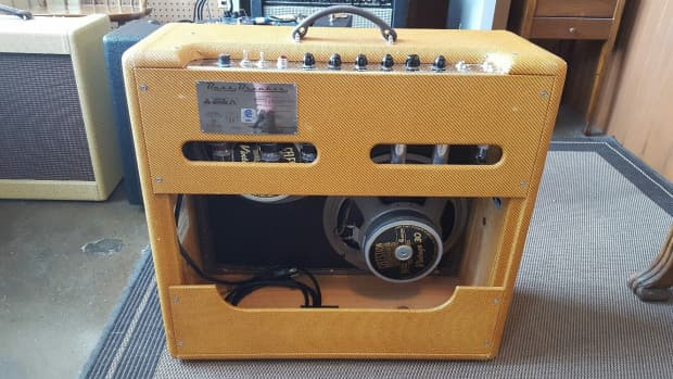 Fender Custom Shop Handwired BassBreaker 2003   Reverb