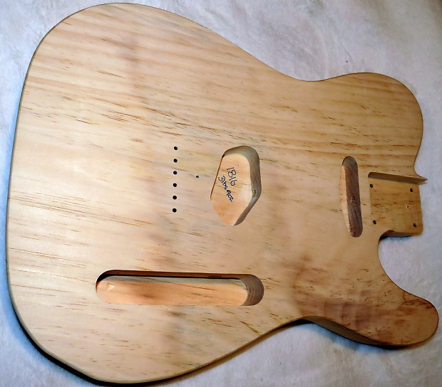 1 piece aged pine telecaster tele body 3lbs 9oz standard reverb. Black Bedroom Furniture Sets. Home Design Ideas