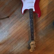 <p>Fender Stratocaster 1987? Red MIJ OEm with case 1987 Matador Red</p>  for sale