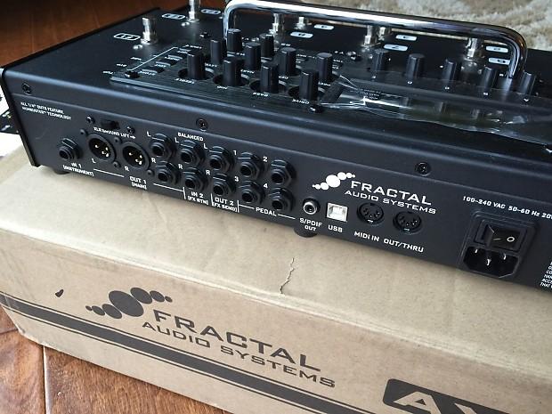 Ax8 Amp Modeler : fractal audio ax8 amp modeler multi effects processor reverb ~ Vivirlamusica.com Haus und Dekorationen
