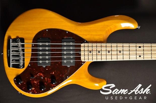 ernie ball music man stingray 5 string bass hh 2009 reverb. Black Bedroom Furniture Sets. Home Design Ideas