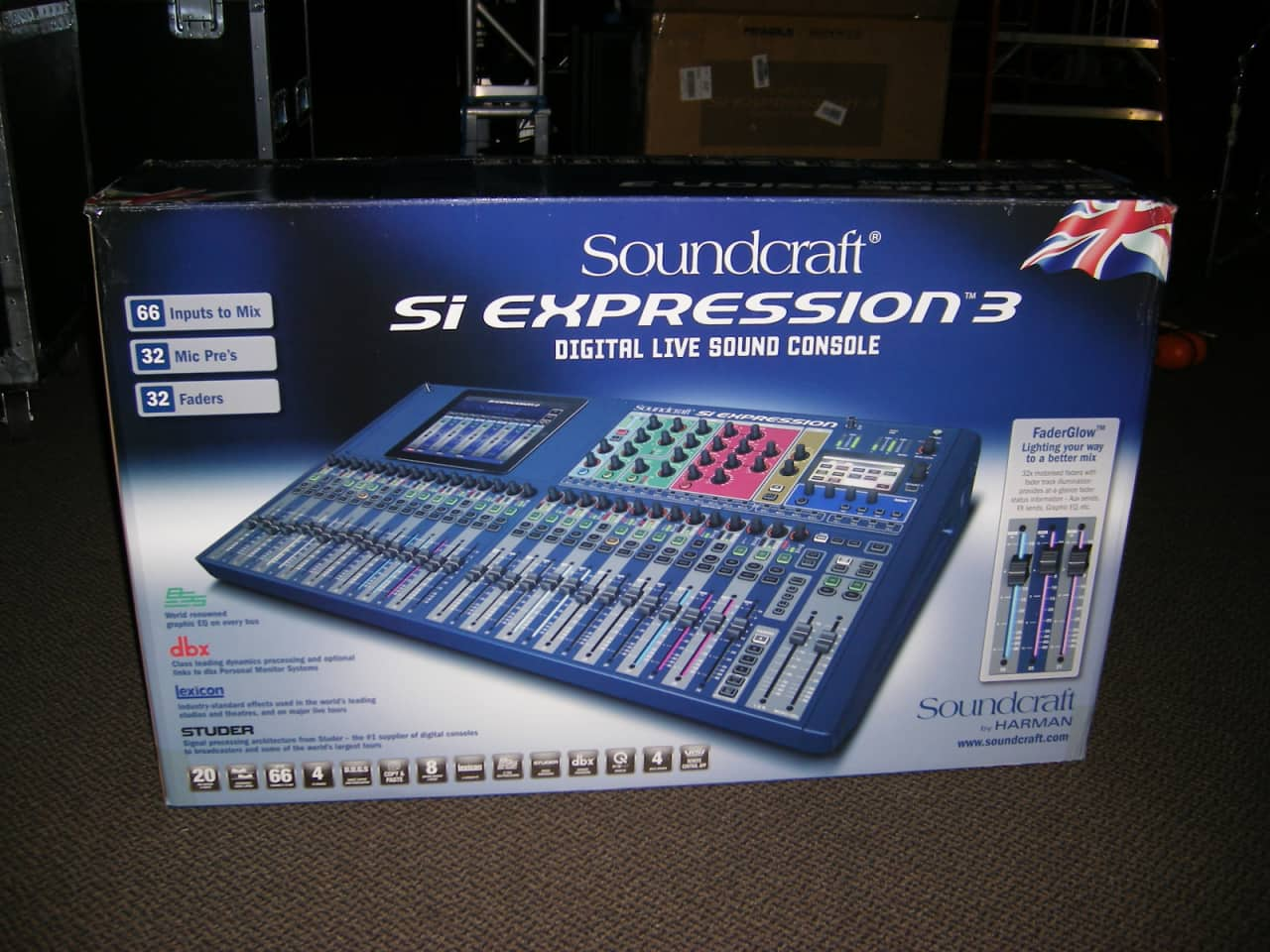 soundcraft si expression 3 free shipping reverb. Black Bedroom Furniture Sets. Home Design Ideas