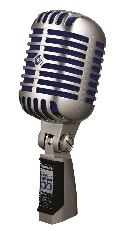 Shure Super 55 Vintage Design Deluxe Vocal Microphone