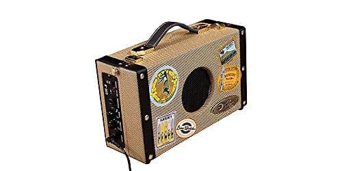 luna ukulele suitcase amp with 9v battery and ac adapter reverb. Black Bedroom Furniture Sets. Home Design Ideas