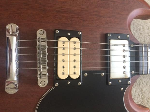 Epiphone G400 SG Worn Brown - With Mods & OHSC!