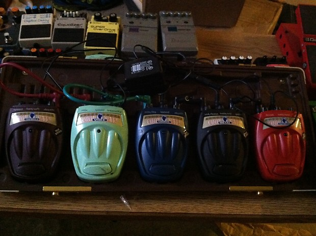 Danelectro Powered Pedal Board With 5 Pedals Free