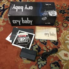 Dunlop Crybaby Wah Pedal GCB-95 With Adapter image
