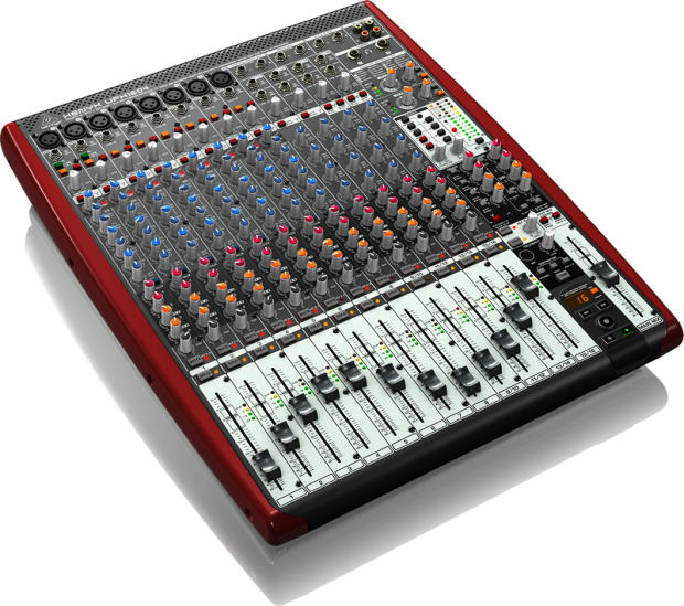 behringer ufx1604 16 channel usb firewire analog mixer w reverb. Black Bedroom Furniture Sets. Home Design Ideas