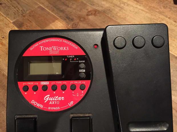 Korg Toneworks Ax1g Guitar Processor Black Reverb