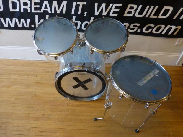 vintage 1970 39 s zickos acrylic drum set reverb. Black Bedroom Furniture Sets. Home Design Ideas