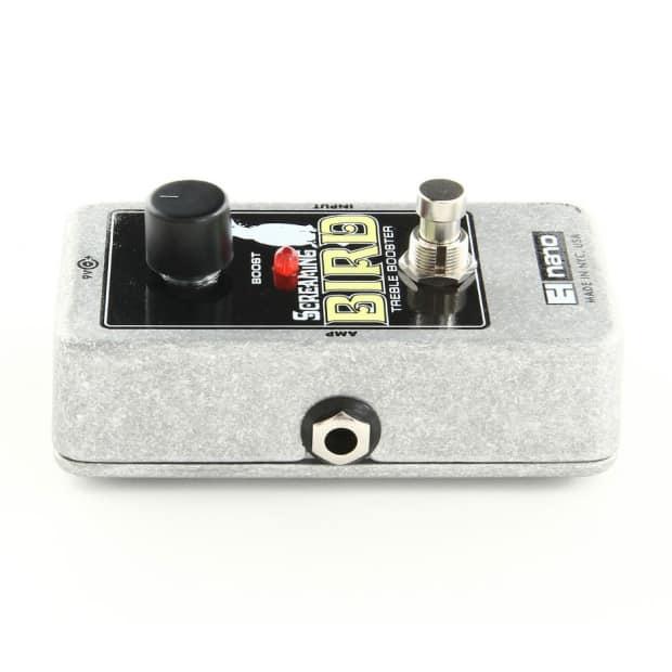 electro harmonix ehx screaming bird treble booster pedal reverb. Black Bedroom Furniture Sets. Home Design Ideas