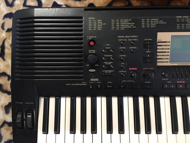 Yamaha psr 730 portatone keyboard non functioning reverb for Yamaha portatone keyboard