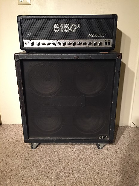 peavey 5150 ii half stack w straight cabinet reverb. Black Bedroom Furniture Sets. Home Design Ideas
