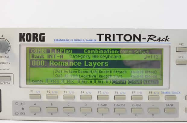 korg triton rack modular synthesizer w power supply reverb. Black Bedroom Furniture Sets. Home Design Ideas