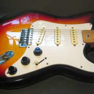 <p>Vintage Castilla Fender Style Stratocaster 1970&#039;s - Japan - Tobacco Burst</p>  for sale