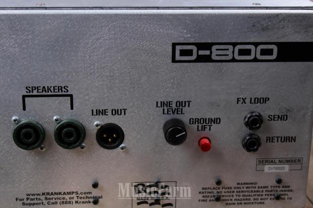 krank d800 bass guitar head amplifier 800 watt amp. Black Bedroom Furniture Sets. Home Design Ideas