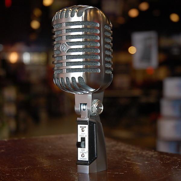 shure 55sh series ii microphone reverb. Black Bedroom Furniture Sets. Home Design Ideas