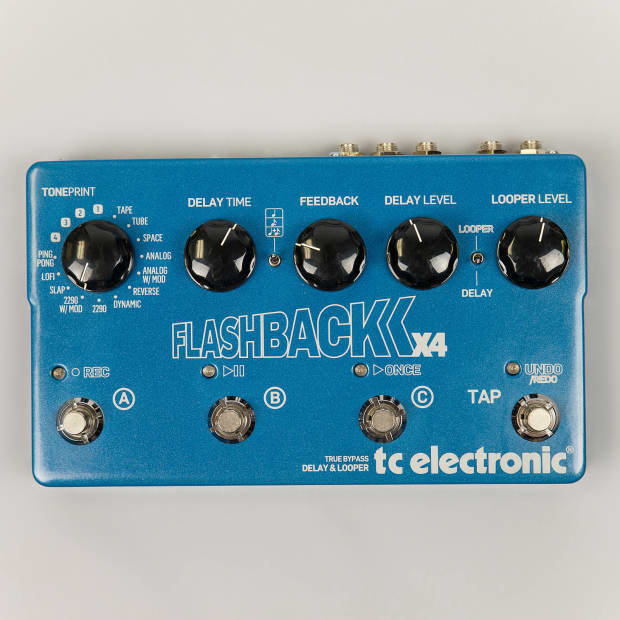 Delay Pedal With Presets : tc electronic flashback x4 delay pedal w presets and tap reverb ~ Hamham.info Haus und Dekorationen