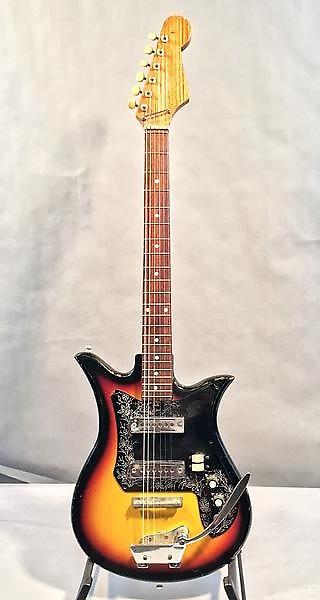 teisco 1960 39 s et 200 electric guitar vintage reverb. Black Bedroom Furniture Sets. Home Design Ideas