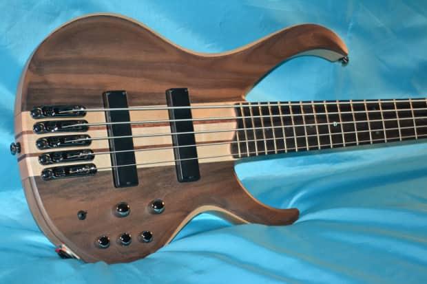 ibanez btb675 5 string bass bartolini pickups active eq reverb. Black Bedroom Furniture Sets. Home Design Ideas