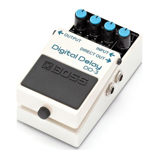 boss dd 3 digital delay effect pedal bundle reverb. Black Bedroom Furniture Sets. Home Design Ideas