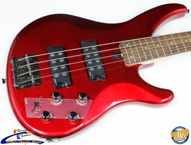 yamaha trbx304 4 string electric bass candy apple red. Black Bedroom Furniture Sets. Home Design Ideas