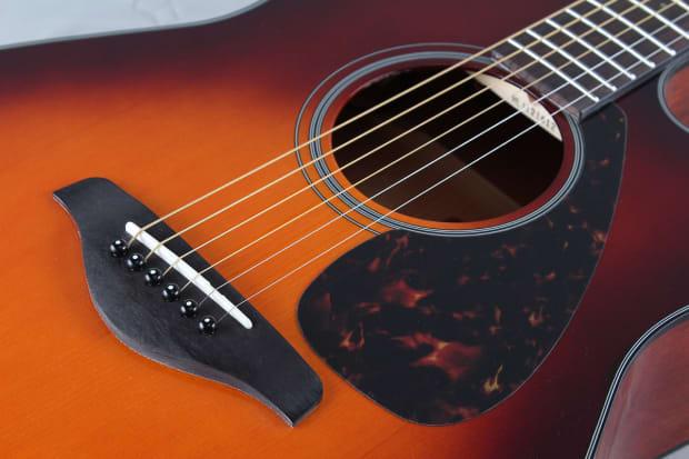 Yamaha Fsx700sc Bs Acoustic Electric Guitar Reverb