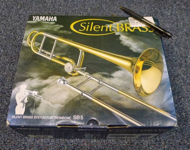 yamaha silent brass kit for trombone sb5 free shipping. Black Bedroom Furniture Sets. Home Design Ideas