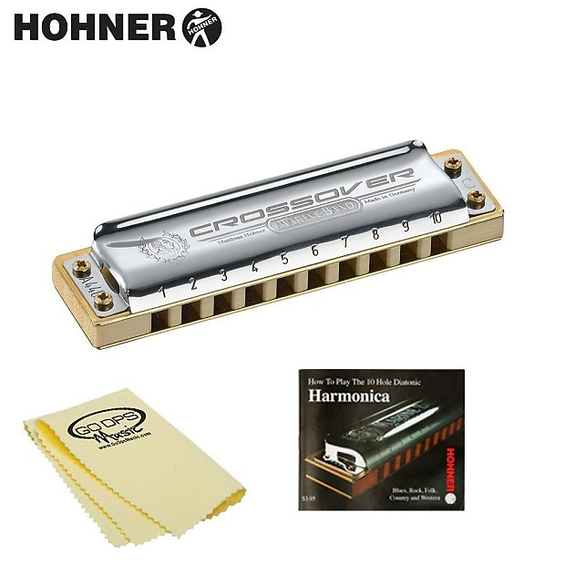 hohner marine band crossover harmonica key of d m2009bx d kit reverb. Black Bedroom Furniture Sets. Home Design Ideas