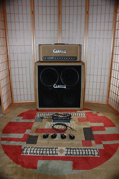 carvin x100b series iv matching tube amp head half reverb. Black Bedroom Furniture Sets. Home Design Ideas