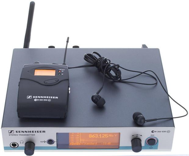 sennheiser ew 300 iem g3 a band 516 558 mhz wireless in ear monitoring system reverb. Black Bedroom Furniture Sets. Home Design Ideas