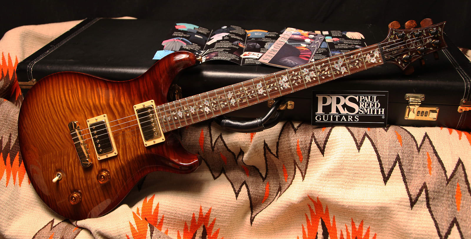 "1996 PRS Rosewood Limited  ""Violin Amber"""