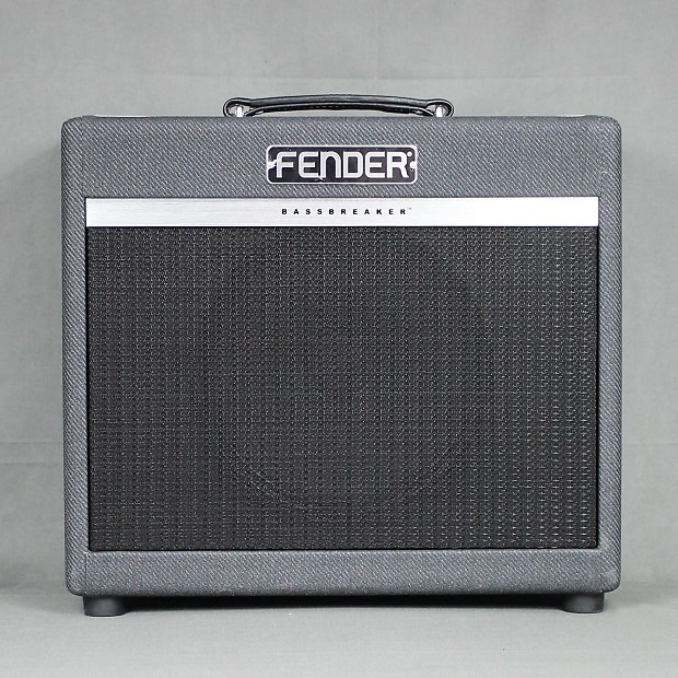 fender bassbreaker 15 1x12 15 watt tube guitar combo amp reverb. Black Bedroom Furniture Sets. Home Design Ideas