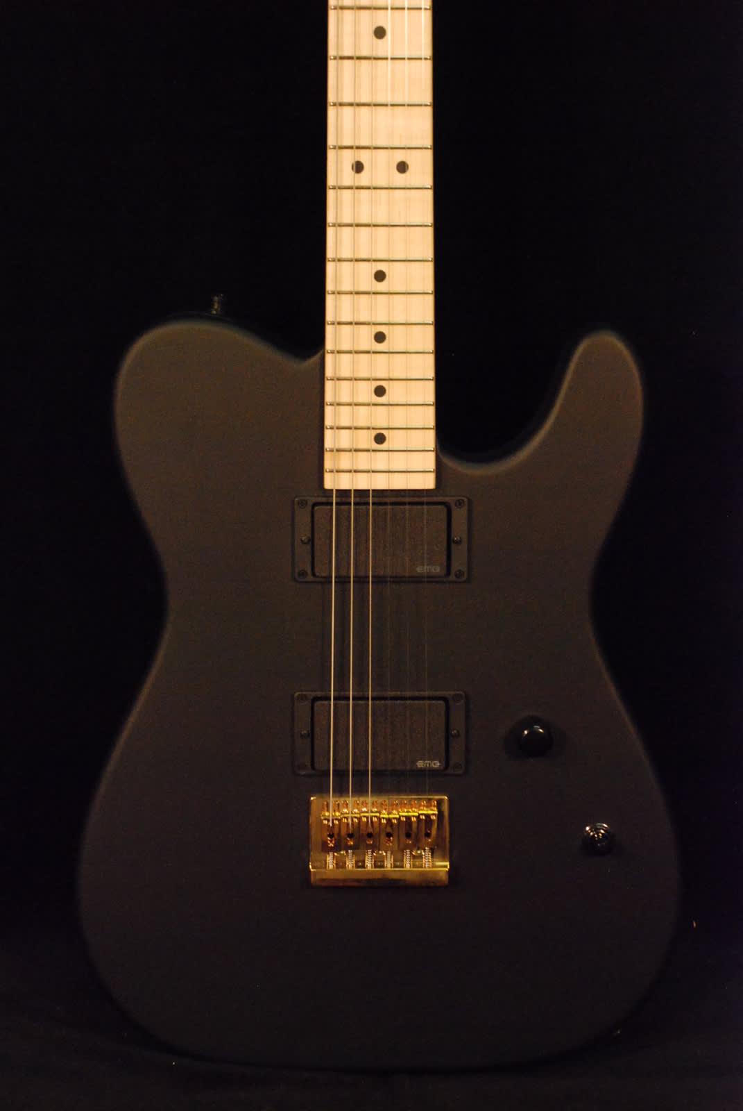 Houston Auto Direct >> Charvel Custom Tele Satin Black with EMG Pickups | Reverb