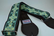 NEW! Souldier Guitar Straps - Constantine Seafoam - Leather Ends image