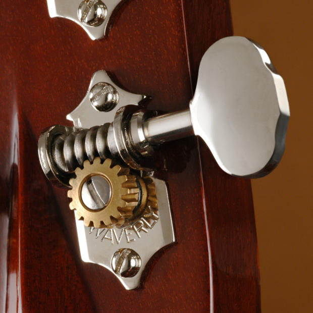 waverly guitar tuners with butterbean knobs for solid pegheads nickel 3l 3r reverb. Black Bedroom Furniture Sets. Home Design Ideas