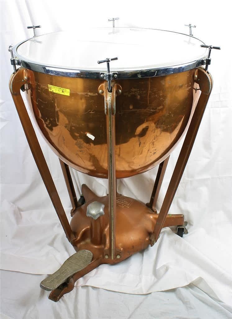 Vintage Ludwig 26 Quot Timpani Symphony Model Tympani Drum