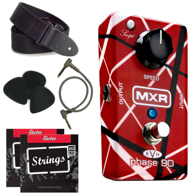 mxr eddie van halen phase 90 pedal bundle package reverb. Black Bedroom Furniture Sets. Home Design Ideas