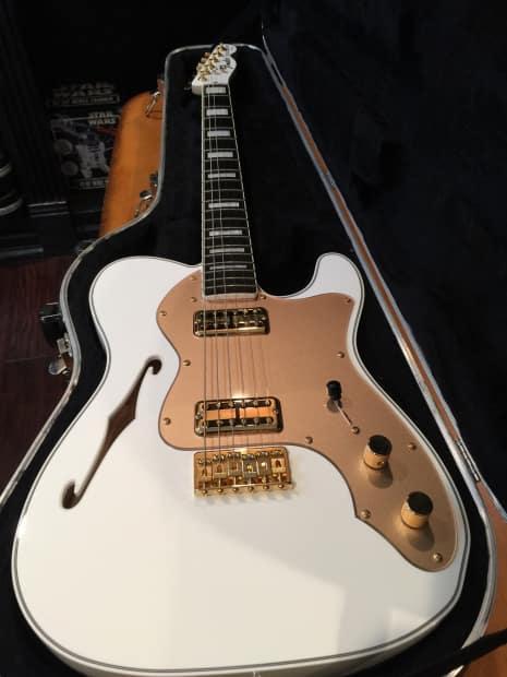 fender telecaster thinline super deluxe electric guitar rare reverb. Black Bedroom Furniture Sets. Home Design Ideas