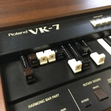 Roland VK-7 Organ and Motion Sound KBR-3D Stereo Rotary Amp image