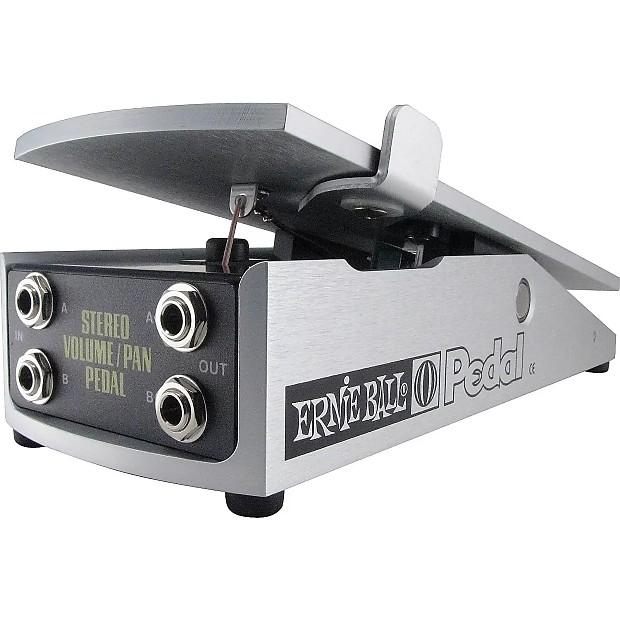 Ernie Ball 6165 Stereo Volume Pan Pedal Reverb