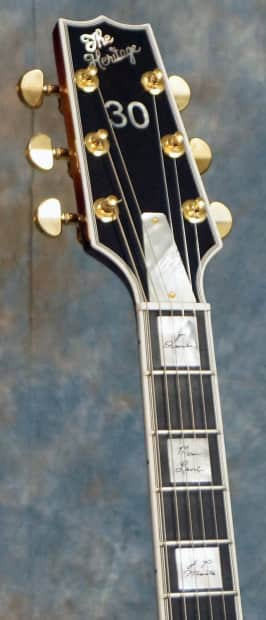 Jvr Auto Sales >> Heritage H-555 30th Anniversary Awesome #15 of Limited | Reverb