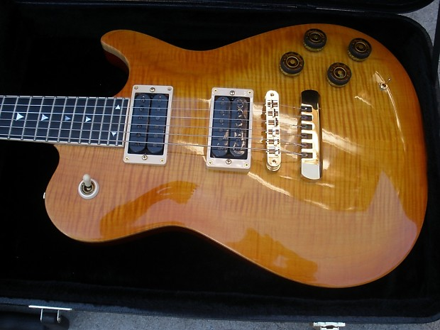 peavey odyssey electric guitar - usa model - flametop