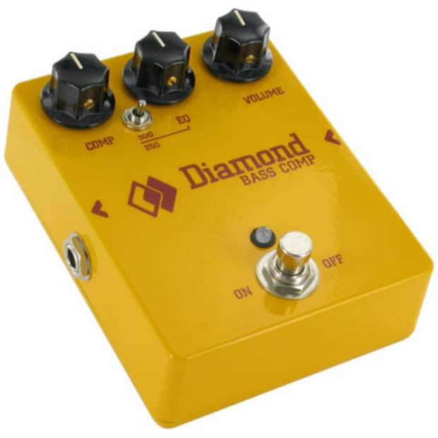 diamond bass guitar compressor effects pedal and power supply reverb. Black Bedroom Furniture Sets. Home Design Ideas