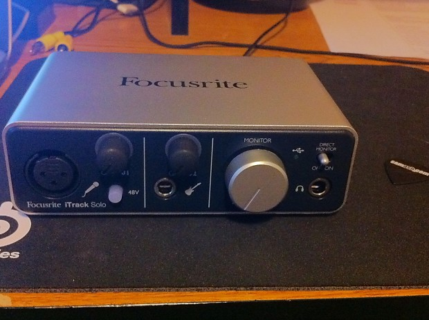 focusrite itrack solo interface priced to sell reverb. Black Bedroom Furniture Sets. Home Design Ideas