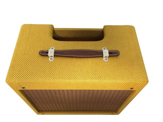 5f1 Champ Cabinet New Oem Tweed Vintage Amber Lacquer Reverb